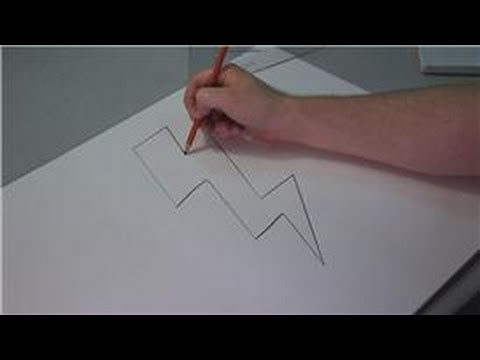 Drawing Lessons : How to Draw Lightning Bolts - YouTube