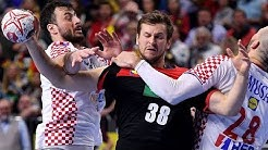 HANDBALL CROATIA - GERMANY. IHF World Men's Championship 2019