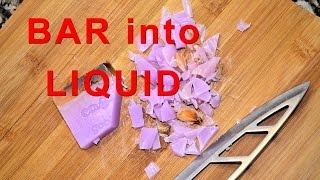 Download Video How To Turn A Soap Bar Into A Liquid In 10 Minutes MP3 3GP MP4