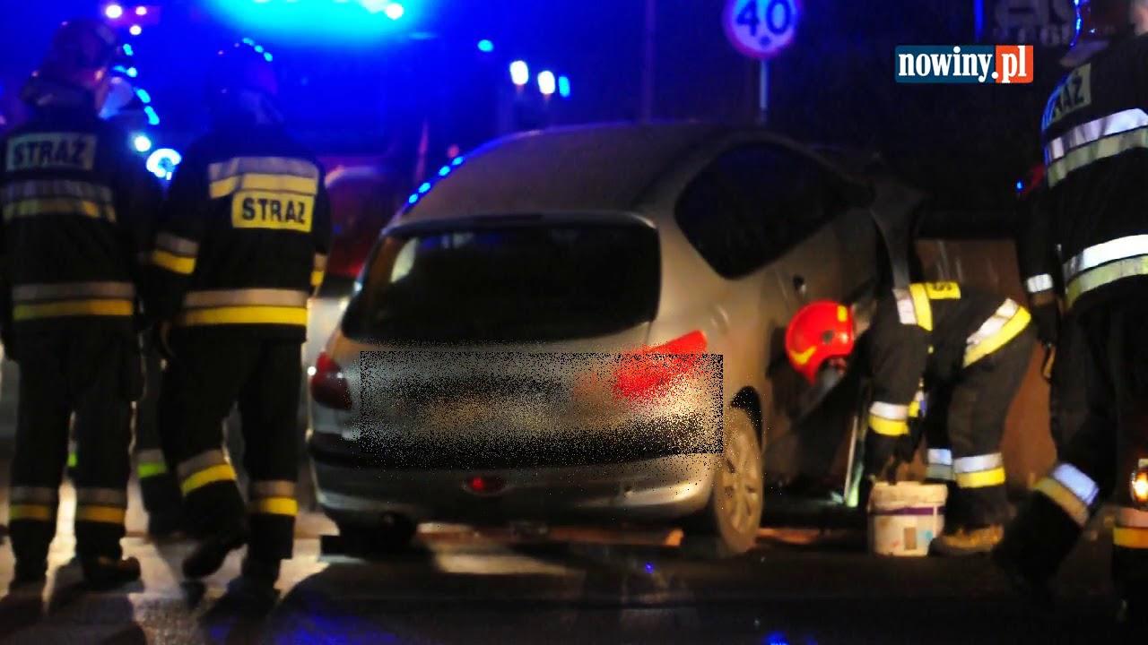 Wypadek w Chwałowicach na Śląskiej – 26 stycznia 2018