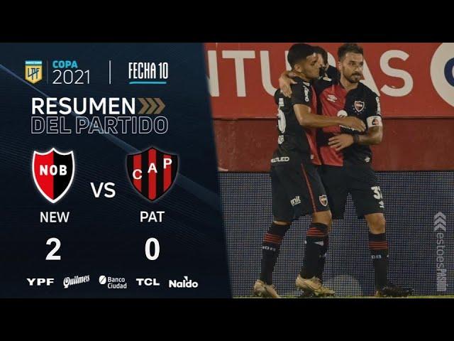 Copa De La Liga | Fecha 10 | resumen de Newell's - Patronato