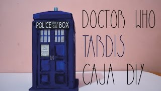 Pp Fandom   Doctor Who  Tardis Caja Multiusos Diy   Pp Arts