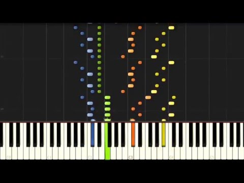 Beethoven: Piano Sonata No. 22 in F major - Complete [Piano Tutorial] (Synthesia)