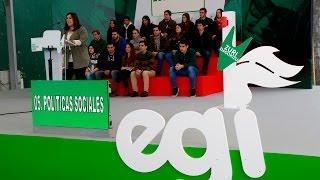 Egi Eguna 2016 - 5. Políticas Sociales. Arantzazu Saratxaga