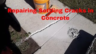 DIY / Repairing Cracks on Your Walkway or Driveway...