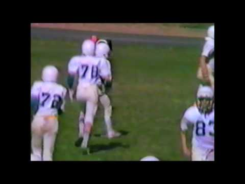 Lovell Middle School 8th Grade Football vs. Cody 1984