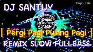 DJ PERGI PAGI PULANG PAGI | REMIX SLOW FULLBASS 2020 [NEWS POPULER REMIX]