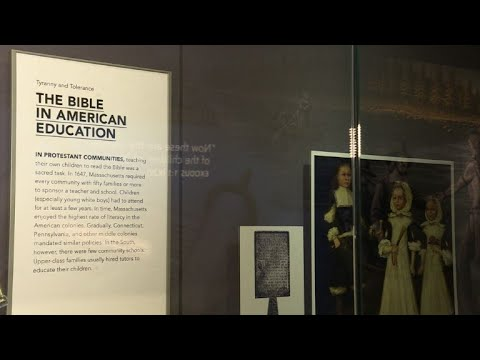 Washington's Bible museum aims to skirt the political weeds