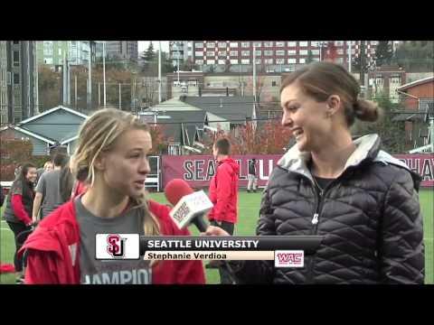 Stephanie Verdoia And Julia Moravec Postgame Interview