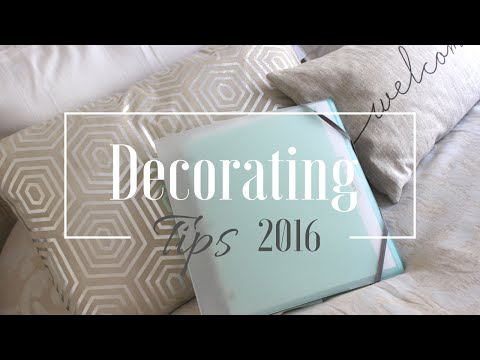 DECORATING TIPS:  Tips To Starting A Room Makeover