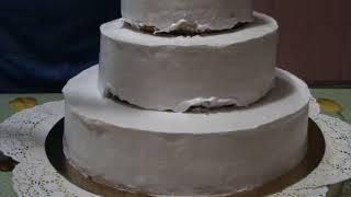 Сборка свадебного торта
