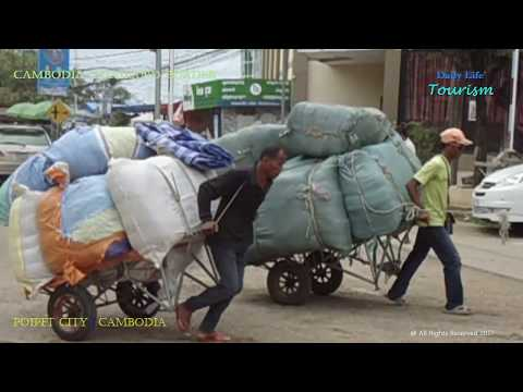 OMG ! Busy Cambodia Thailand Border | PoiPet City | Cambodia | Asia Developing Country