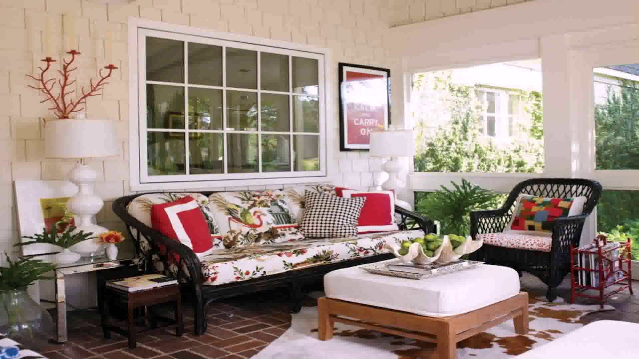 Small Enclosed Patio Design Ideas