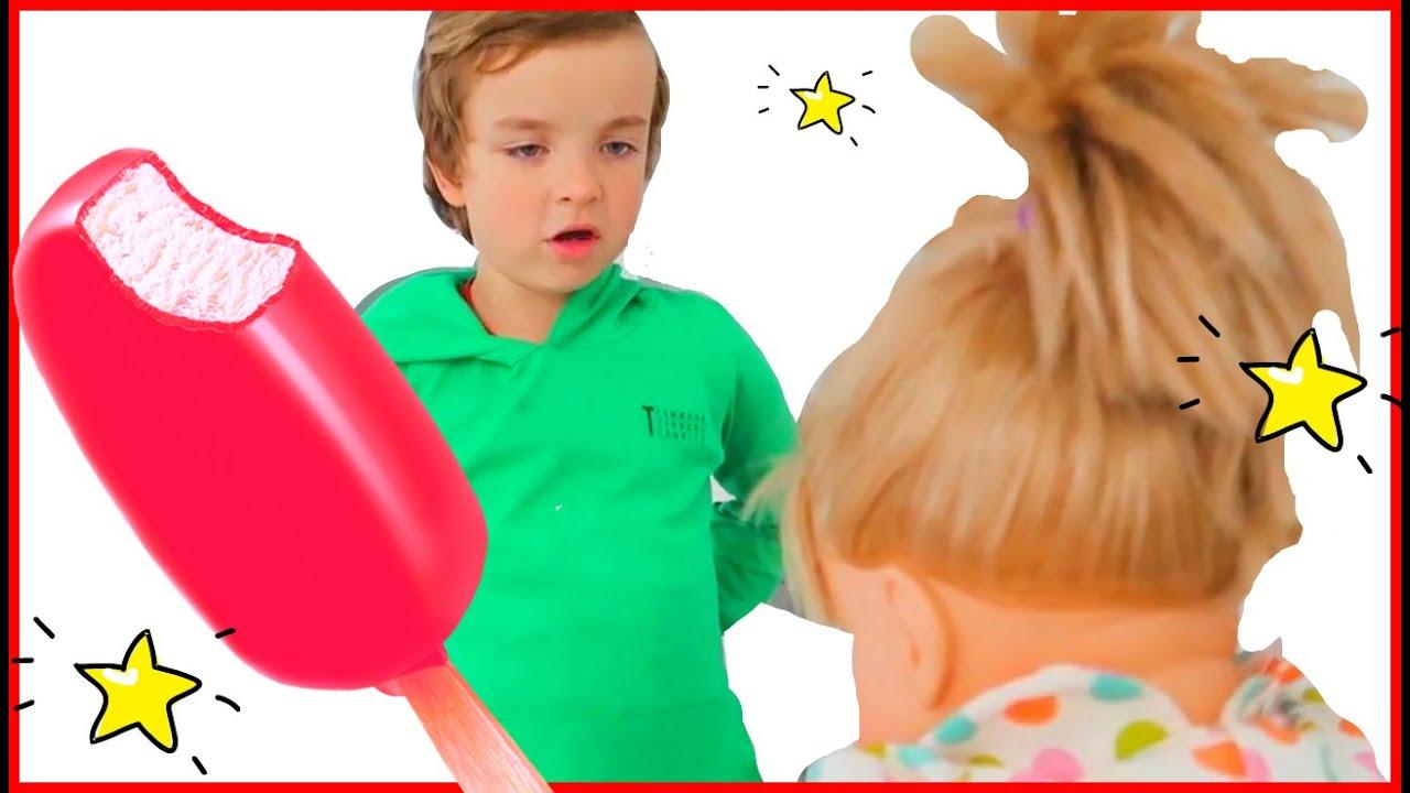 Johny Johny yes papa song version  dolls   동요와 아이 노래   어린이 교육   Hello Makar