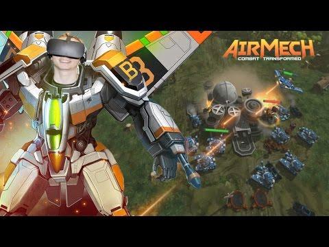 AirMech: Command - Oculus Rift Let´s Play