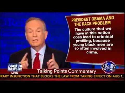 O'Reilly Smacks Down Obama's Race Speech: President Has 'No Clue' How To Combat 'Gangsta Culture'