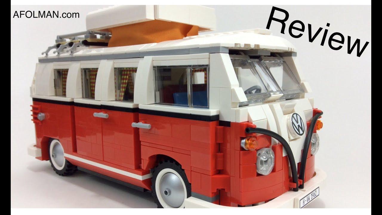 vw lego creator 10220 volkswagen t1 camper van review! - youtube