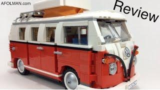 Vw Lego Creator 10220 Volkswagen T1 Camper Van  Review!
