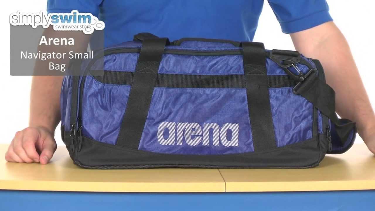 f6046e2b64 Arena Navigator Small Bag - wwww.simplyswim.com - YouTube
