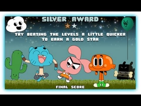 The Amazing World Of Gumball - Blind Fooled - Gumball Games full new 2016