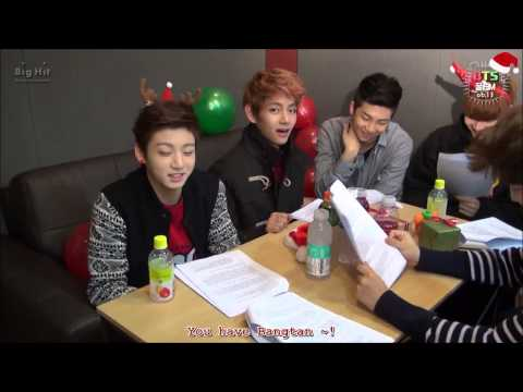 {ENG SUB} [BTS 꿀 FM 06.13] The Very Happy Christmas With BTS! (2/2)