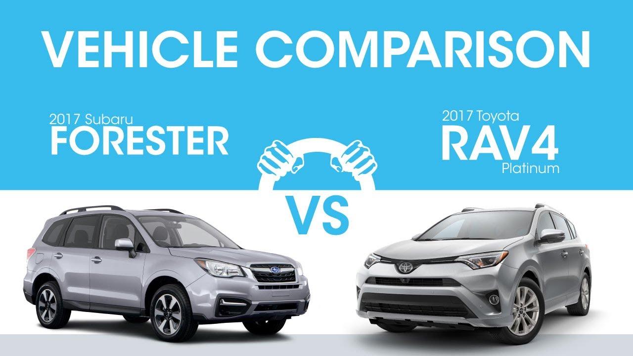 Delightful 2017 Subaru Forester Vs 2017 Toyota Rav4: Which Is Better?