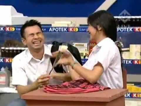 Kemesraan Raffi Ahmad & Mikha Tambayong @ Yuk Keep Smile 07 September 2013 Part 5