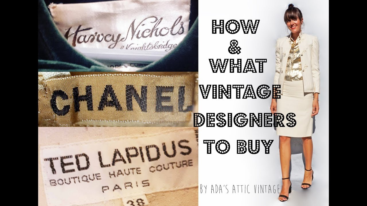 Look - How to buy clothing vintage video