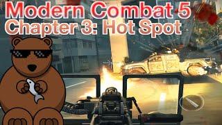 Modern Combat 5: Chapter 3 - Escape: 02.Hot Spot (3 Stars Walkthrough)