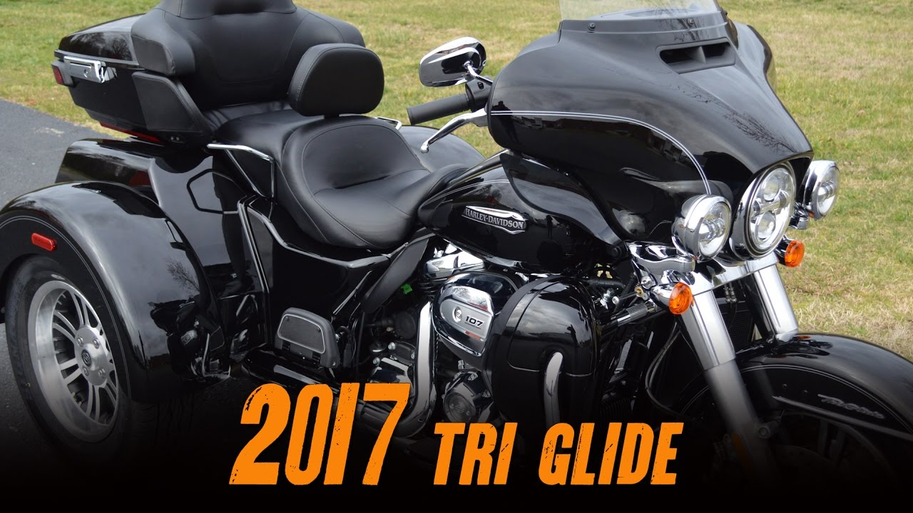 2017 harley-davidson® flhtcutg - tri glide® ultra vivid black