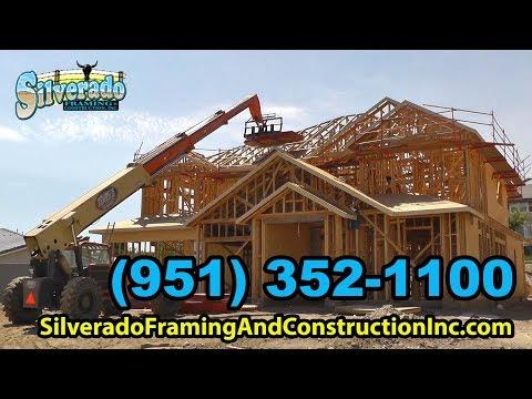 Framing Contractors Riverside & Inland Empire - (951) 352-1100