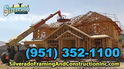 Framing Contractors Riverside & Inland Empire - (951) 352-1100