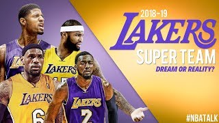 Will LeBron Build A Lakers Super Team w/ Paul George?