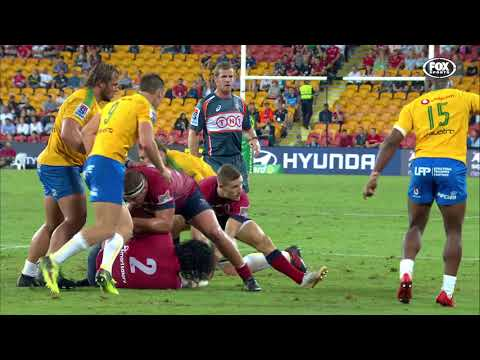 HIGHLIGHTS: 2018 Super Rugby Week #4: Reds v Bulls