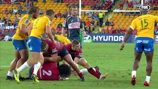 HIGHLIGHTS: 2018 Super Rugby Week #4: Reds v Bulls
