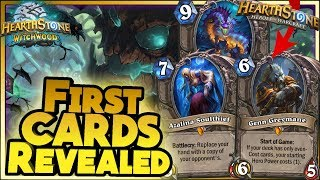 FIRST WITCHWOOD CARDS REVEALED - WTF Hearthstone Funny and lucky Rng Moments