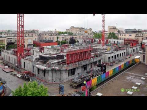 Modernisation de l'hôpital Edouard Herriot : De la déconstruction à la construction