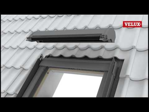 Installazione della tapparella velux easy youtube for Montaggio velux