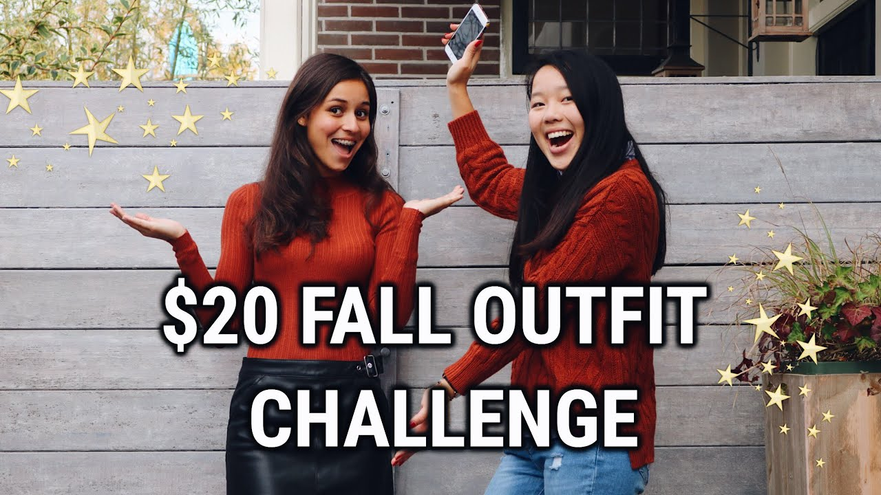 [VIDEO] - CHEAP FALL OUTFITS CHALLENGE PRIMARK! Friend buys my outfits haul 5