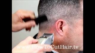 How To Cut A Military Fade