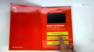 Интерактивные видео-буклеты - FlexiPlay™(Интерактивные видео-буклеты - FlexiPlay™. FlexiPlay™ представляет собой ультратонкий видеодисплей, заключенный..., 2012-11-29T13:28:50.000Z)