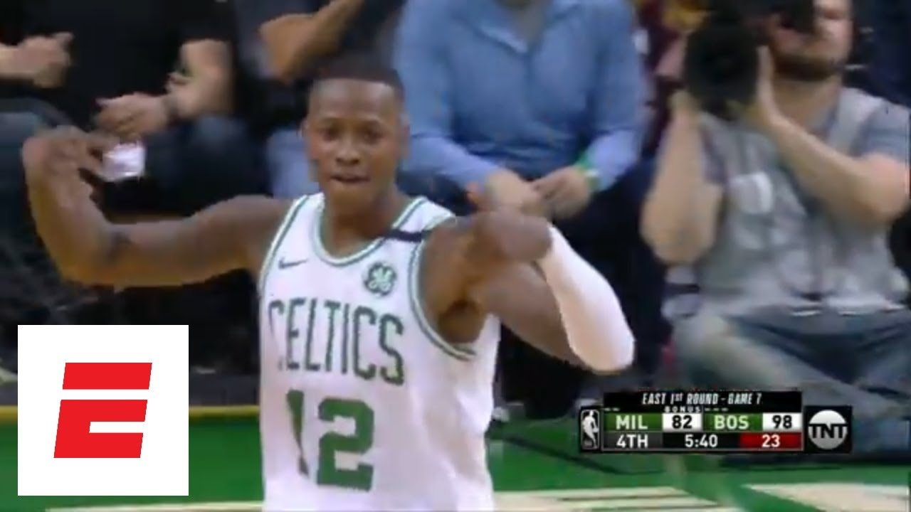 Terry Rozier on fire from deep in Game 7 win over Milwaukee Bucks | ESPN