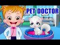 Baby Hazel Pet Doctor Game Movie Episode | Fun Game Videos By Baby Hazel Games
