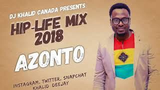 Video Hiplife Mix 2018 Azonto by Dj Khalid Canada download MP3, 3GP, MP4, WEBM, AVI, FLV Mei 2018