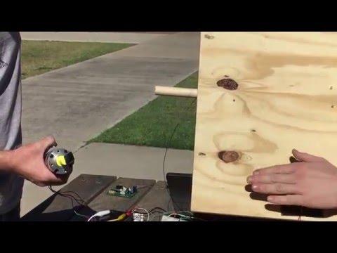 Testing Tracking Code w/ Solar Panels