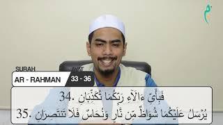 Ar - Rahman 33 -36
