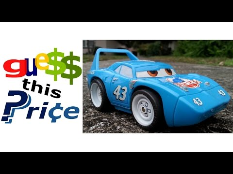 Fisher Price Shake N Go Disney Pixar Cars Toys #43 The King - GUESS THIS PRICE! EBAY AUCTION GAME