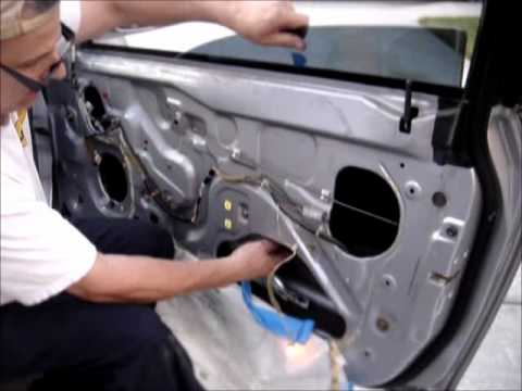 2001 honda accord ex power window regulator installation for 1991 honda accord window regulator