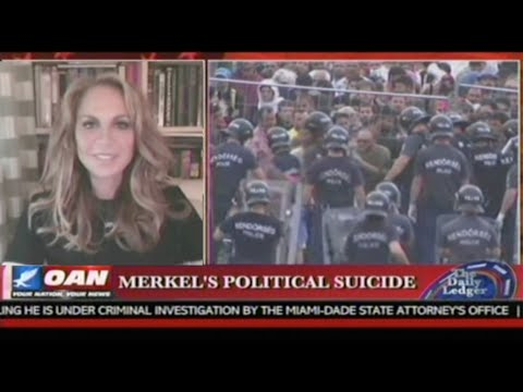 Pamela Geller on The Daily Ledger OAN Discussing the Muslim Invasion of Europe