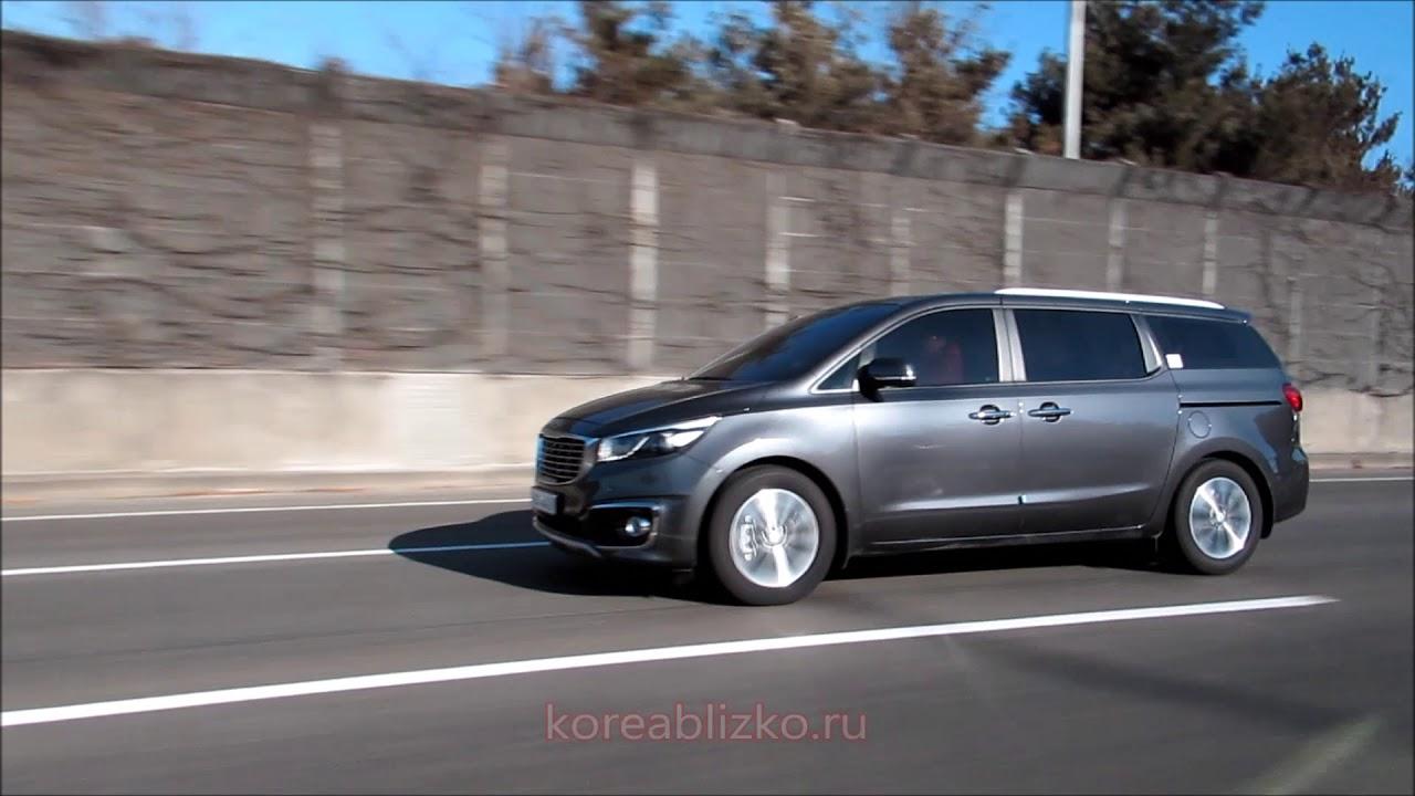 Видео обзор KIA CARNIVAL III 2015 в Южной Корее - YouTube